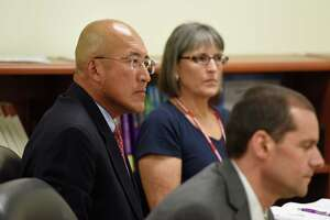 Band director's attorney spars with Greenwich superintendent at hearing - Photo
