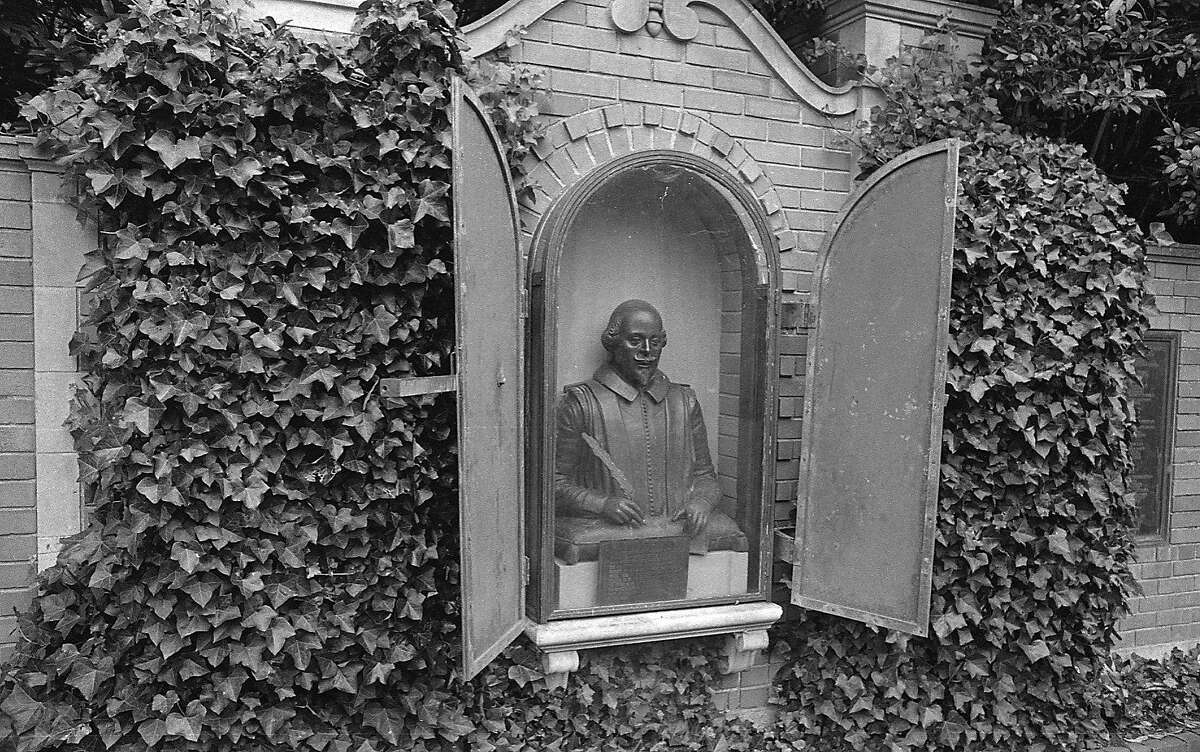 commonly know as Shakespeare's Garden, the Garden of Shakespeare's Flowers is in Golden Gate Park Photo shot 09/28/1967 PHOTO RAN 10/08/1967