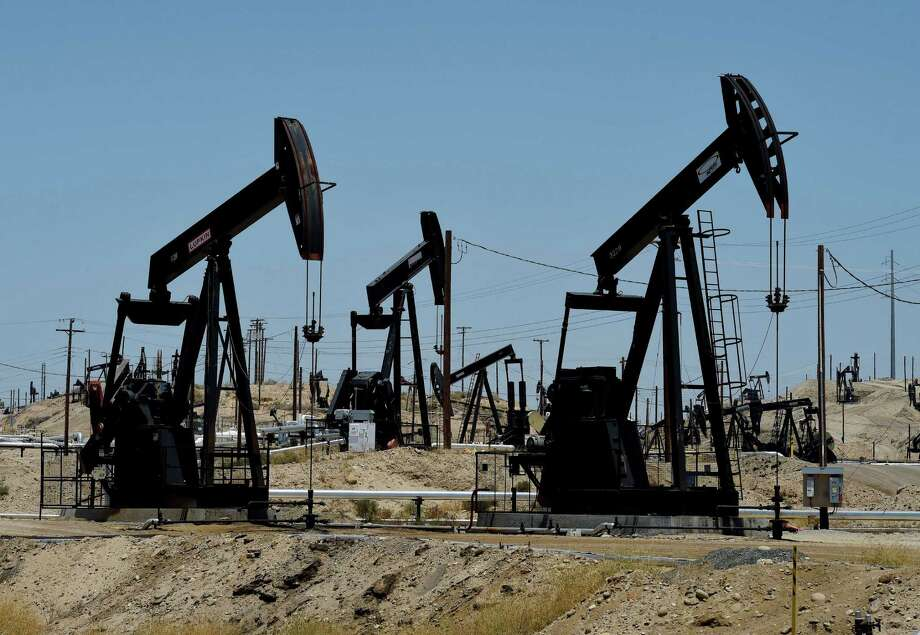 U.S. benchmark West Texas Intermediate crude plunged 7.7 percent to close at $3.79 Tuesday. It gave up nearly all the gains it made Monday. Photo: Mark Ralston /AFP / Getty Images / AFP