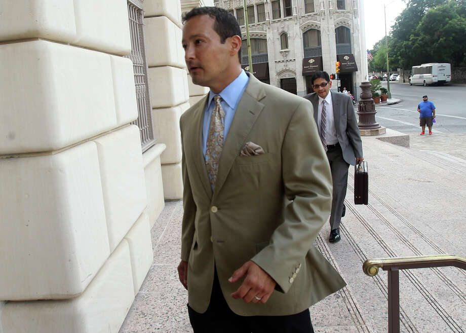 Brian Alfaro recently testified that since his company Primera Energy LLC filed for bankruptcy in June, he has been pitching an oil and gas play in North Texas. Photo: John Davenport /San Antonio Express-News / ©San Antonio Express-News/John Davenport