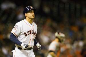 Rehabbing Astros OF George Springer could be activated from DL as soon as Friday - Photo
