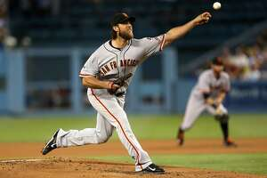 Giants lose 2nd straight to Dodgers - Photo