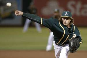 New A's Pridie, Dull and Martin appear in 6-2 loss to Angels - Photo