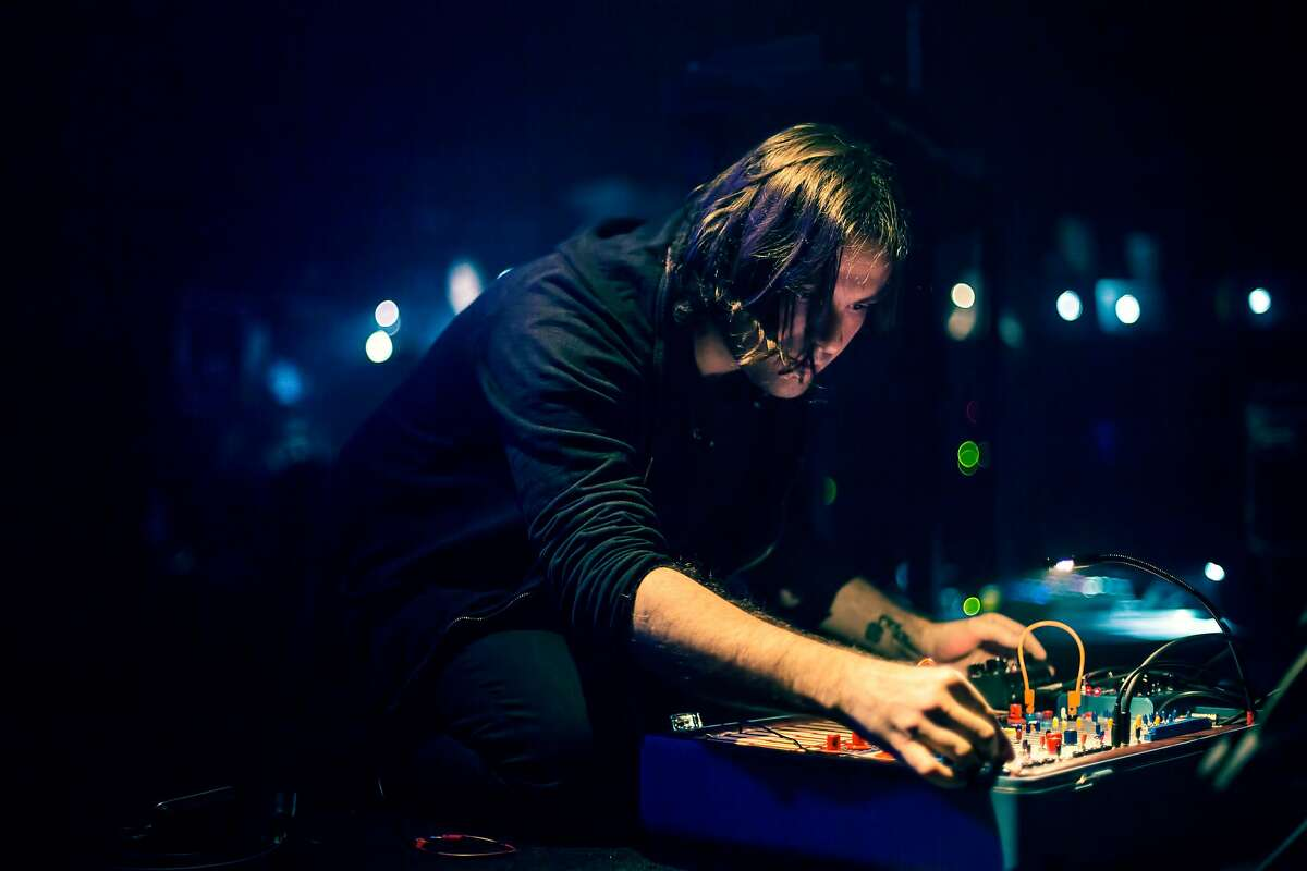 Alessandro Cortini performs at the San Francisco Electronic Music Festival.