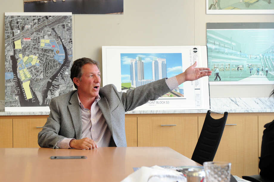 Carl Kuehner III, CEO of Building and Land Technology of Stamford, Conn. Photo: Keelin Daly / Keelin Daly / Stamford Advocate