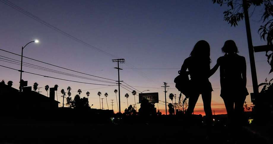 """Tangerine,"" directed by Sean Baker, about two transgender prostitutes who work Santa Monica Boulevard, features strong acting and camerawork - it was shot on an iPhone. Photo: Radium, HONS / Courtesy Sundance Institute"