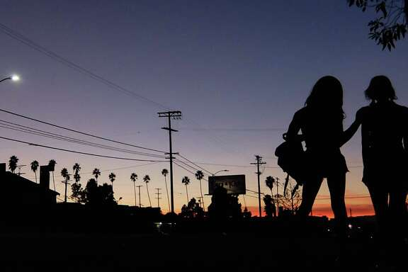 """Tangerine,"" directed by Sean Baker, about two transgender prostitutes who work Santa Monica Boulevard, features strong acting and camerawork - it was shot on an iPhone."