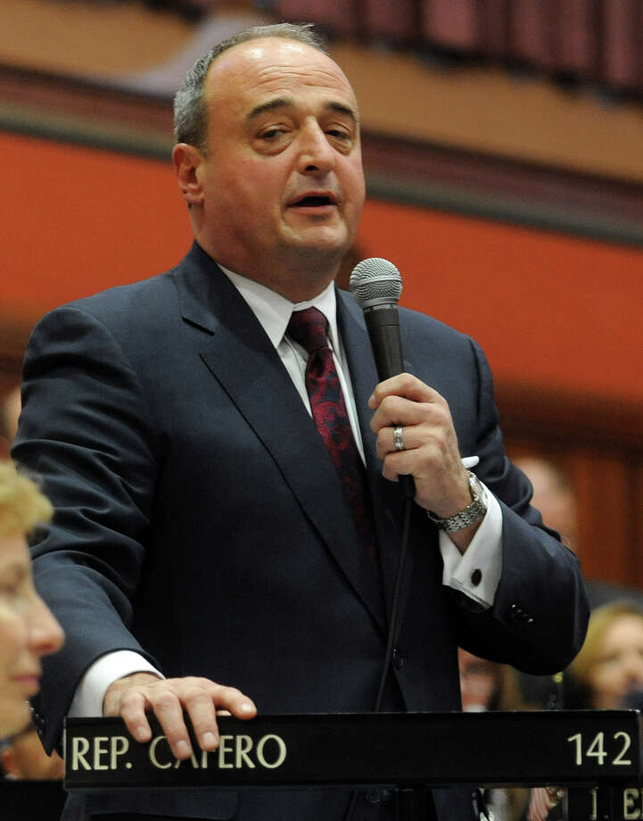 Larry Cafero, former House minority leader. Photo: Lindsay Perry / Lindsay Perry / Stamford Advocate