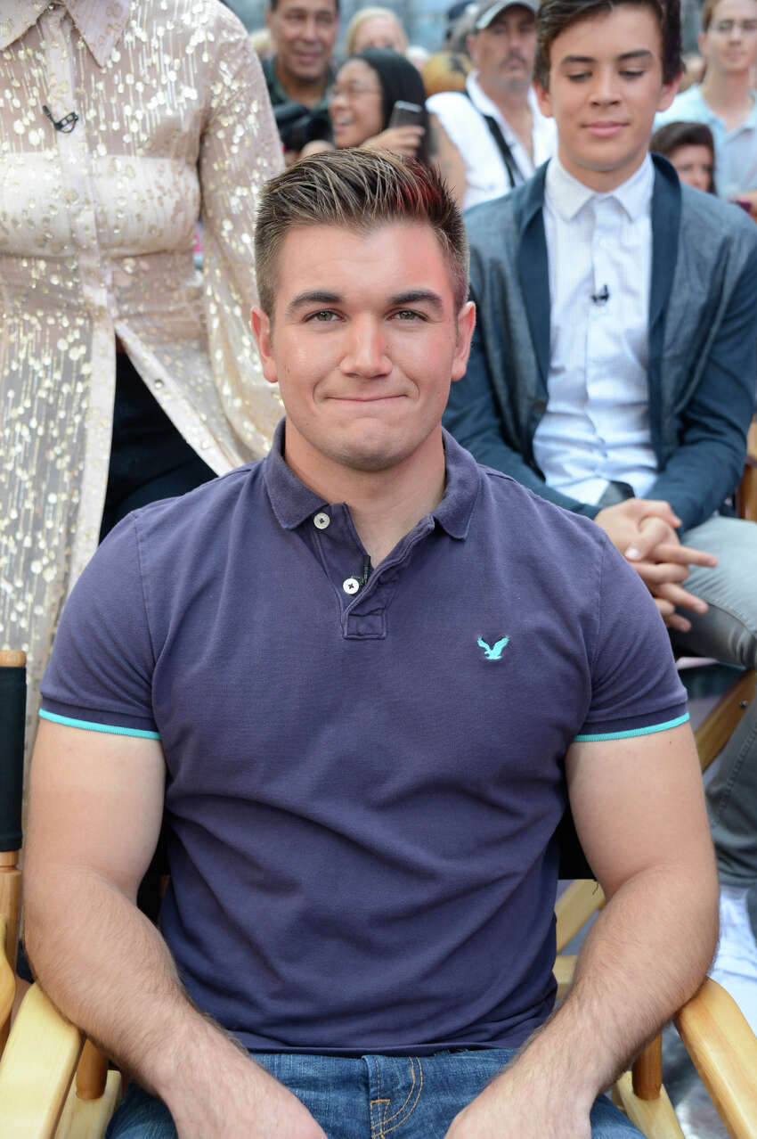 ALEX SKARLATOS The hero Oregan National Guaradsman who helped thwart a gunman on a train in France.