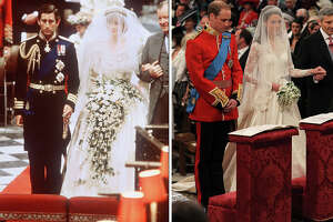 Vintage photos of Princess Di's wedding - Photo