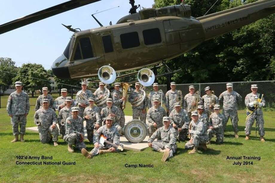The 102 Army Band from the Connecticut National Guard will perform at the annual 9/11 commemoration in New Fairfield. Photo: Contributed Photo