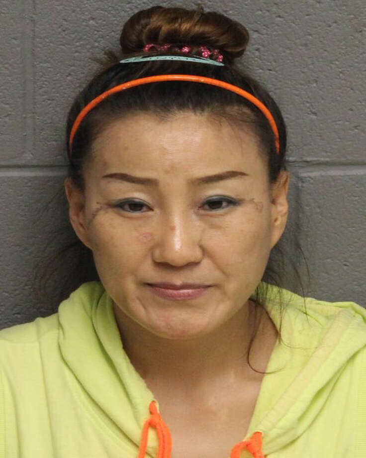 Lan Ying Jin, 41, of Flushing, N.Y. was charged with the unlicensed practice of massage therapy, possession of narcotics and possession of drug paraphernalia. She was arrested after a raid on a Monroe massage parlor on Tuesday, Sept. 1, 2015. Photo: /