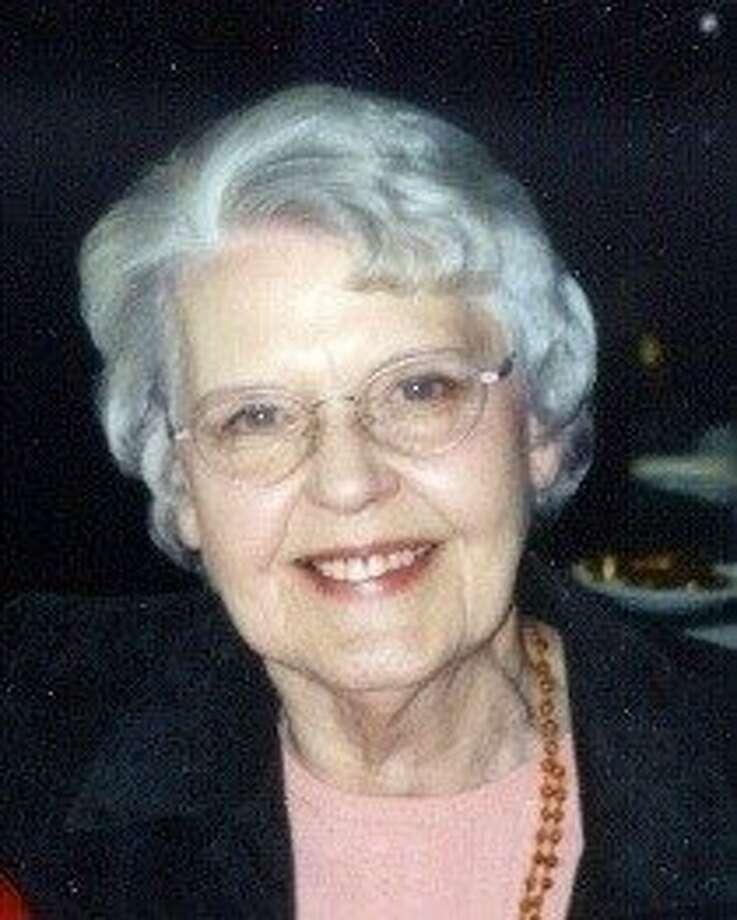 Elma Greer, music librarian at KSFO, was influential in the SF radio scene. Photo: Calif. Historical Radio Soci