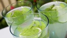 Indika restaurant's , spicy lemon drink.(BILLY SMITH II/STAFF) (Contact:  Anita Contact Phone:  713-524-2170)
