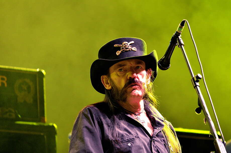 Cult speed-metal act Motörhead has canceled upcoming shows in Texas, including one in Houston on Saturday, due to lead singer Lemmy Kilmister mounting health woes. Photo: Didier Messens