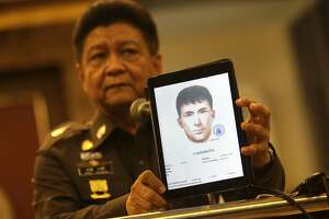 Thai police: Suspect acknowledges being near bomb scene - Photo