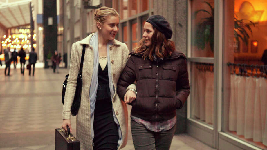 "This photo provided by Fox Searchlight Pictures shows, Greta Gerwig, left, as Brooke, and Lola Kirke, as Tracy, in a scene from ""Mistress America."" (Fox Searchlight Pictures via AP) ORG XMIT: CAET652 / Fox Searchlight Pictures"