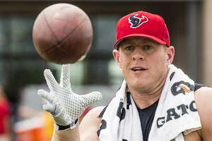 Texans star J.J. Watt on cover of Sports Illustrated - Photo