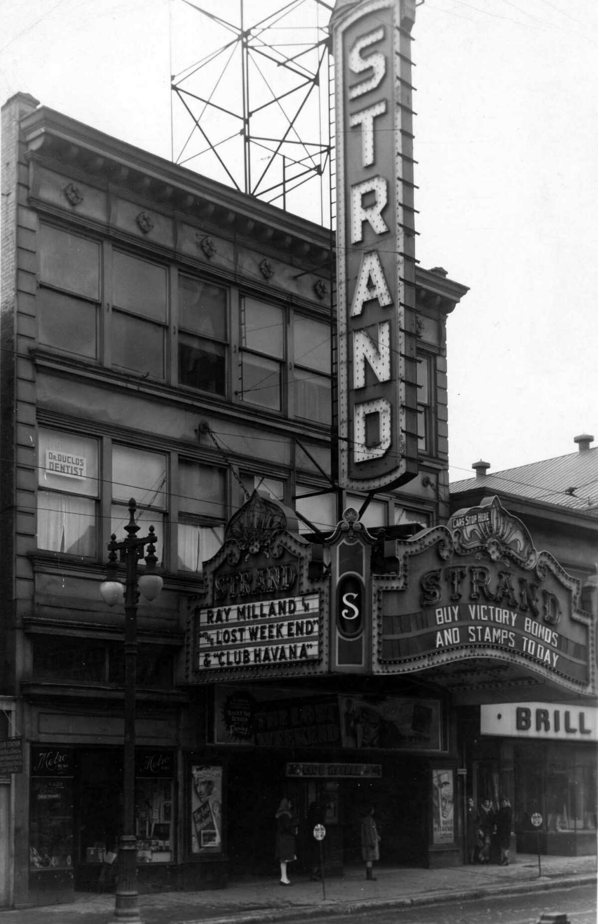 Strand Theatre, undated, at 110 North Pearl St. in Albany, N.Y. (Times Union Archive)