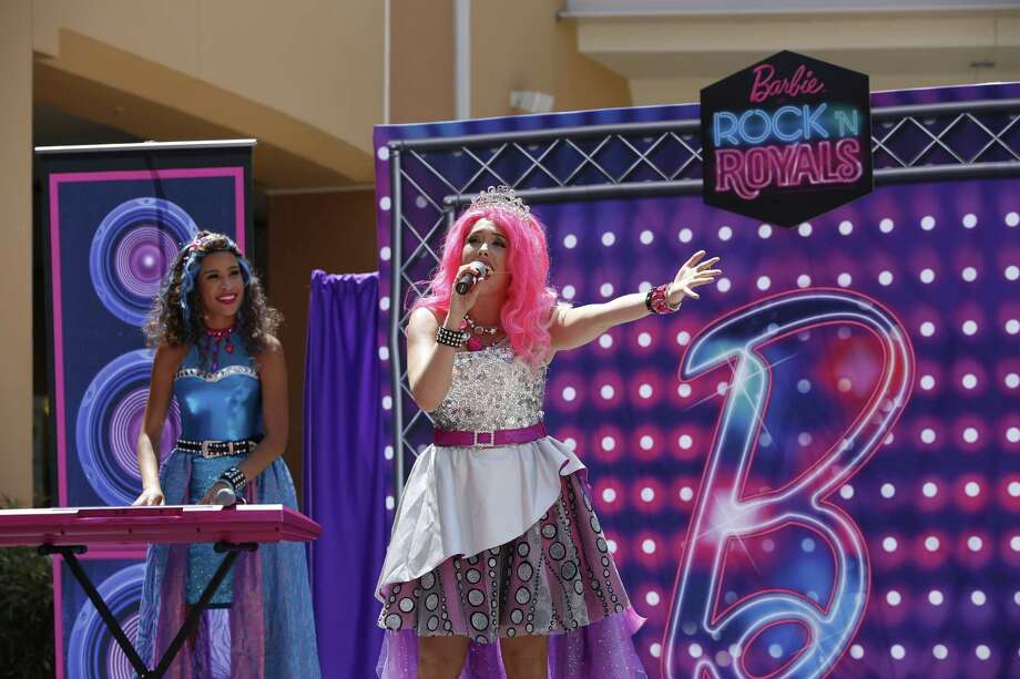 """Raise Your Voice with Barbie in Rock 'N Royals"" Live Show at Katy Mills Mall. (Photo by Christy Radecic/Invision for Mattel/AP Images) Photo: Christy Radecic/Invision/Mattel/ / Invision"