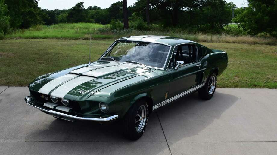 1967 Shelby GT500 Fastback Photo: Photos Courtesy Of Mecum Auctions