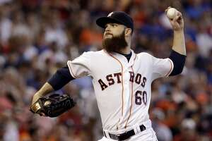 Astros' Dallas Keuchel named AL pitcher of the month for third time this year - Photo