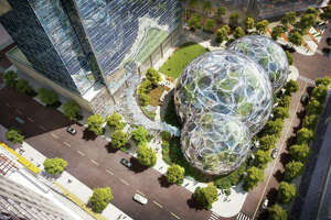 Photos: Amazon's bizarre, futuristic design for new headquarters - Photo