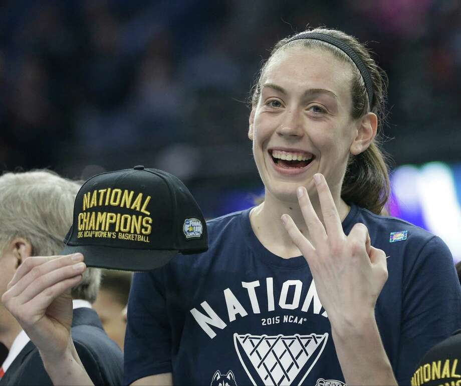 UConn has won the national championship in each of Breanna Stewart's first three seasons. Photo: Brynn Anderson / Associated Press / AP