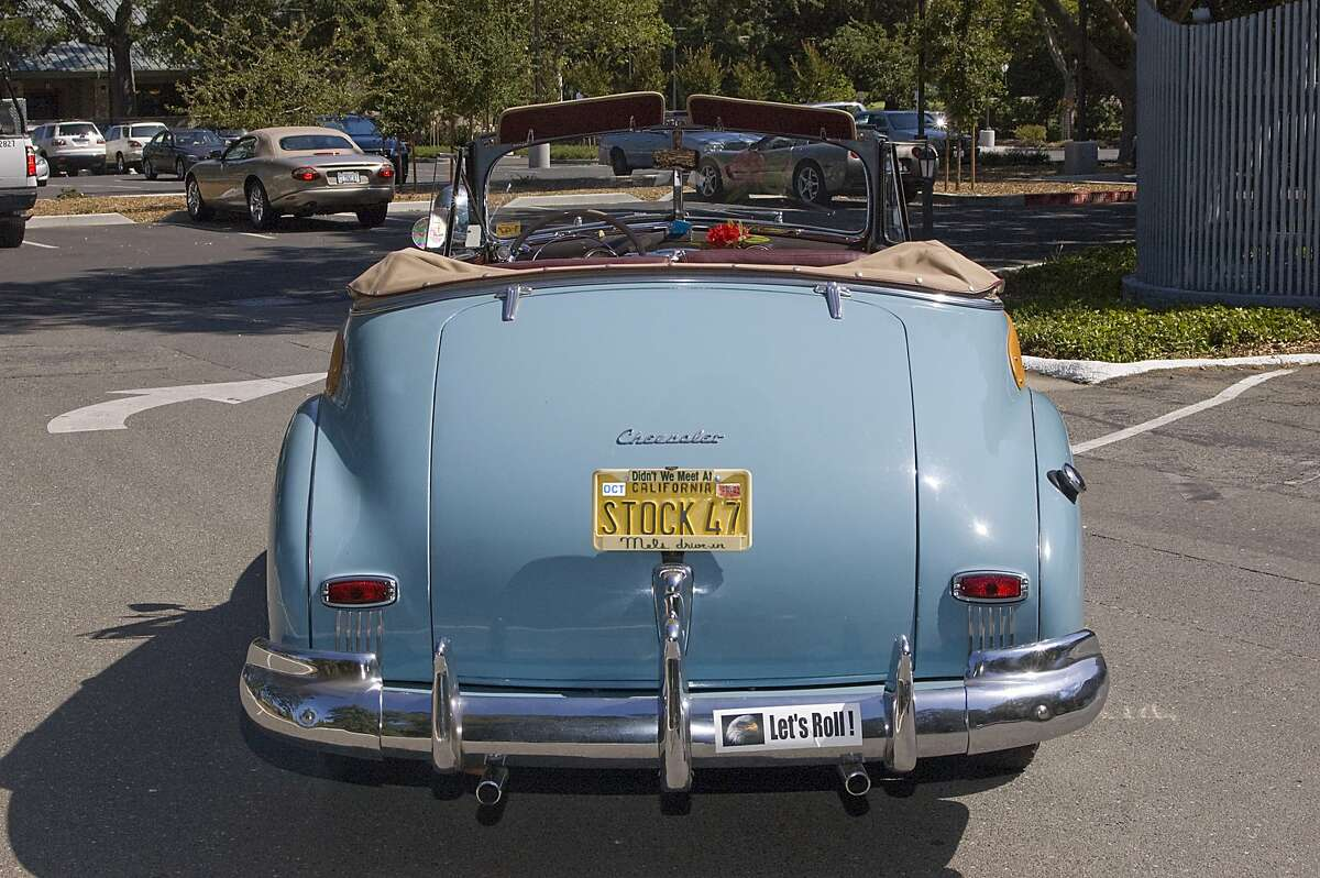 Some of my favorite Woodies include a 1947 Ford convertible, a 1950 Chrysler and a 1953 Buick, with Buick's first V-8 and power steering. My current ride is a powder blue 1947 Chevrolet Woodie convertible.