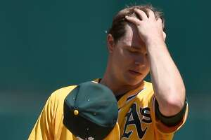 Rough day for Oakland A?s Sonny Gray - Photo