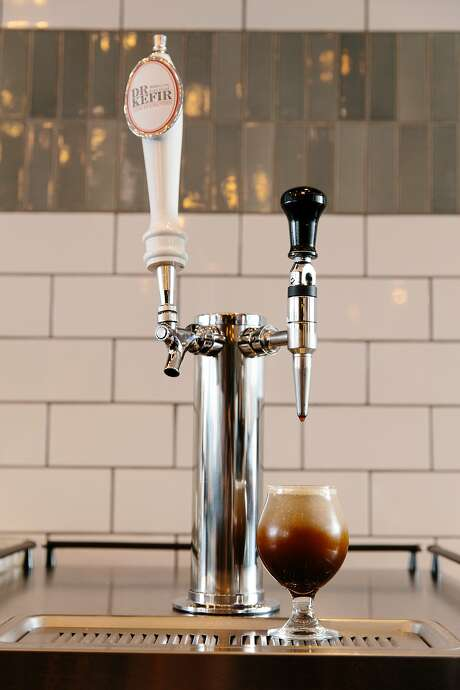 A nitro coffee tap at Verve Coffee Roasters in Santa Cruz. Verve says it was one of the first to make nitro cold brew. Photo: Photo: Verve Coffee Roasters