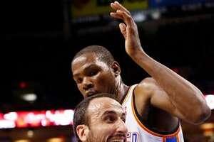 NBA impersonator does perfect Ginobili - Photo