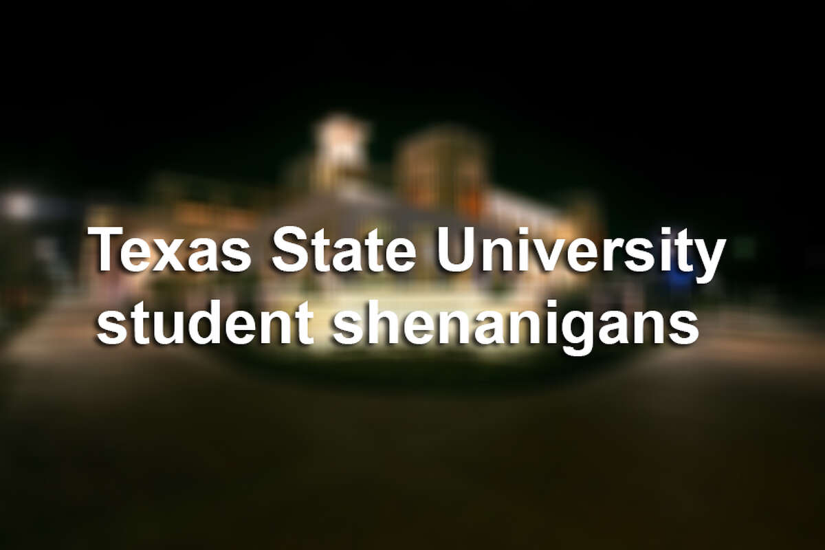 Texas State University (formerly Southwest Texas State) used to be one of the top party schools in the country. But even with a name change the campus is as wild as ever.Click through to see some of the biggest and weirdest Texas State stories in the news.