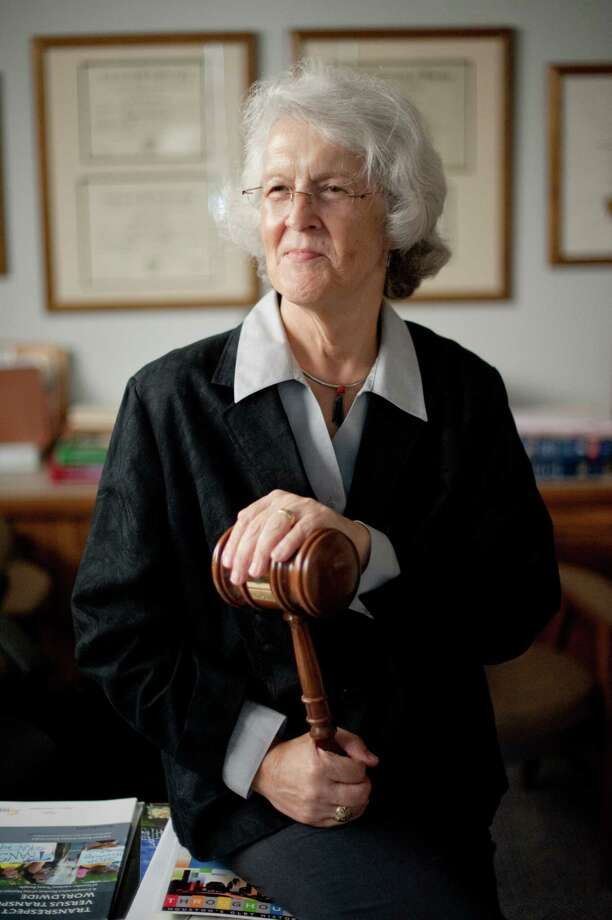 Phyllis Randolph Frye, the nation's first openly transgender judge, at her office in Houston, July 22, 2015. In Texas in 1976, coming out as transgender was an ordeal for Frye, who was disowned, divorced and dismissed from several jobs. In the years since, Frye and others built a civil rights movement that fought for, and increasingly won, equal protection under the law. (Brandon Thibodeaux/The New York Times) Photo: BRANDON THIBODEAUX, STR / NYTNS