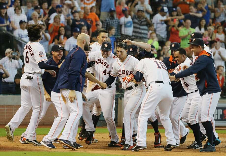 QUIZ: How well do you know your 2015 Houston Astros?  Try to guess the player without seeing the name on their jersey. Photo: Scott Halleran, Getty Images