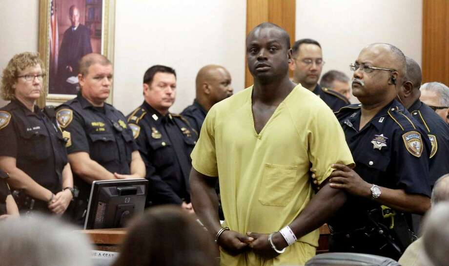 Shannon Miles fue acusado del asesinato del oficial Darren Goforth. Se encuentra detenido sin derecho a fianza. Photo: Pat Sullivan, STF