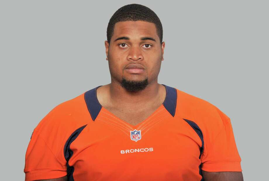 This is a photo of Chris Clark of the Denver Broncos NFL football team. This image reflects the Denver Broncos active roster as of Tuesday, June 17, 2014. (AP Photo) Photo: FRE / NFLPV AP