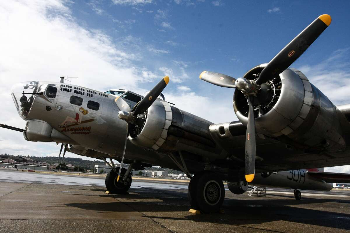 Boeing B-17 Flying Fortress aircraft like this one, pictured Wednesday, Sept. 2 at Boeing Field, dropped more bombs during World War II than any other aircraft.