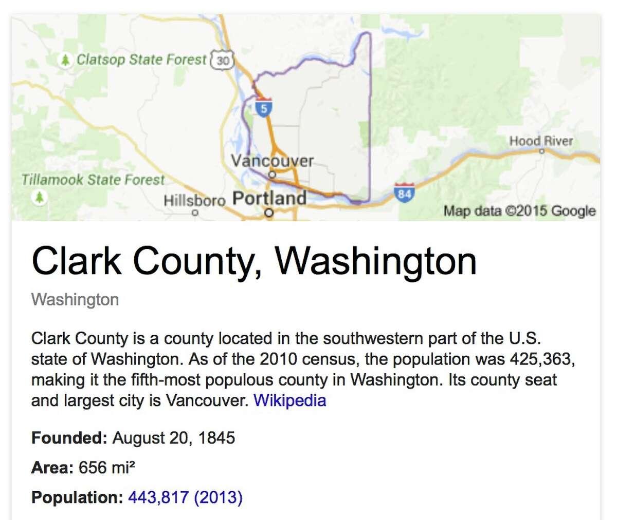 Clark: Total sales: $24,625,881 - Per capita sales: $56.93 - Average sales among retailers: $3,517,983 - Number of retailers: 7