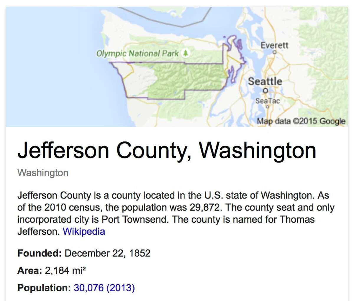 Jefferson: Total sales: $1,530,906 - Per capita sales: $51.23 - Average sales among retailers: $765,453 - Number of retailers: 2