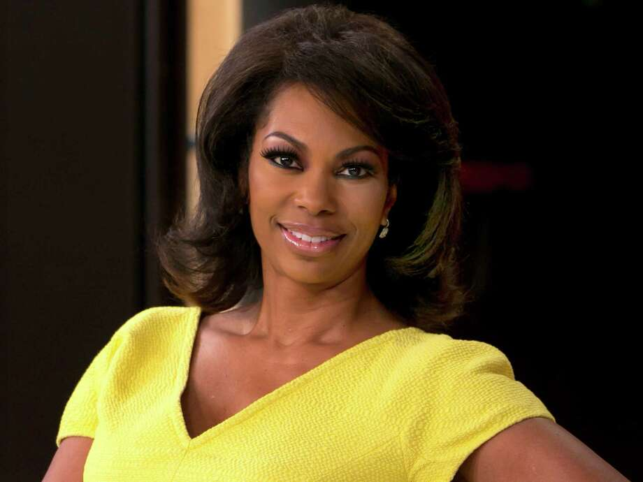 """FILE - In this April 28, 2015, file photo, Fox News anchor Harris Faulkner poses for a photo on the set in New York. Harris sued toymaker Hasbro Monday, Aug. 31, 2015, in federal court in New Jersey for more than $5 million over a toy that shares her name. Harris' suit claims Hasbro wrongfully appropriated her name and persona with its plastic """"Harris Faulkner"""" hamster. (AP Photo/Richard Drew, File) Photo: Richard Drew, STF / AP"""