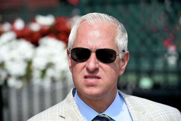 Trainer Todd Pletcher won the feature The With Anticipation Stake on Military Appreciation Day at the Saratoga Race Course Wednesday Sept. 2, 2015  in Saratoga Springs, N.Y.    (Skip Dickstein/Times Union) Photo: SKIP DICKSTEIN