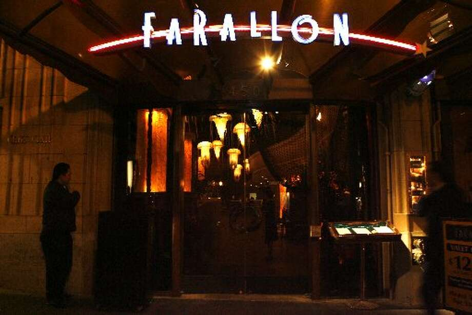 Farallon has a fantastical seafaring interior. Photo: The Chronicle 2007
