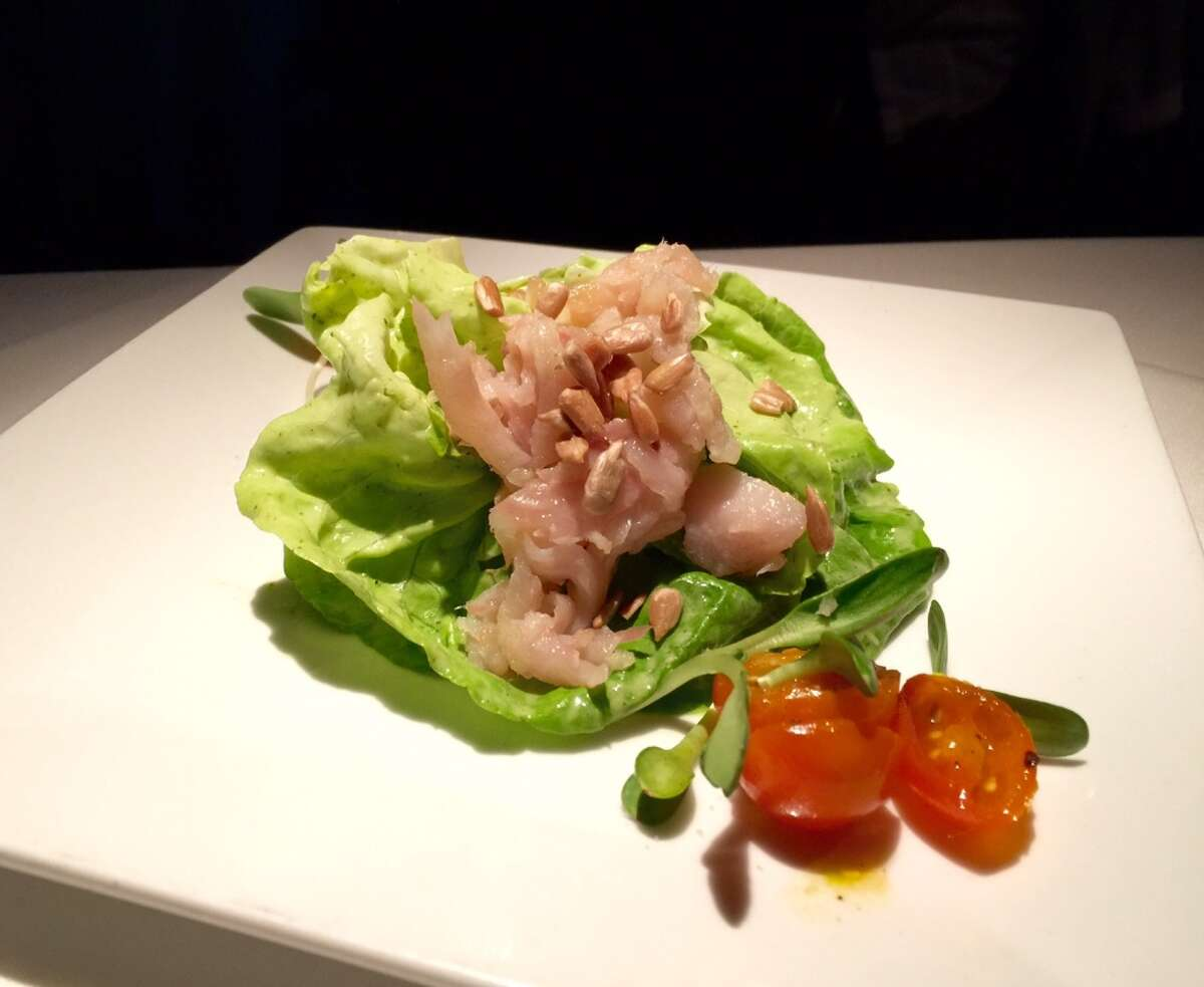 Trout salad with Green Goddess dressing ($17).