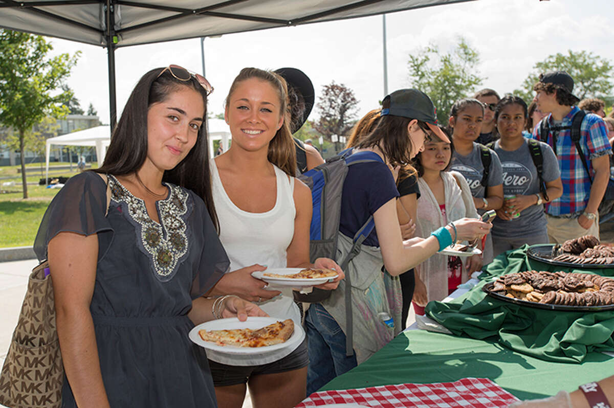 Were you Seen at the Welcome Week Experience at Hudson Valley Community College in Troy on Tuesday, Sept. 1, 2015?