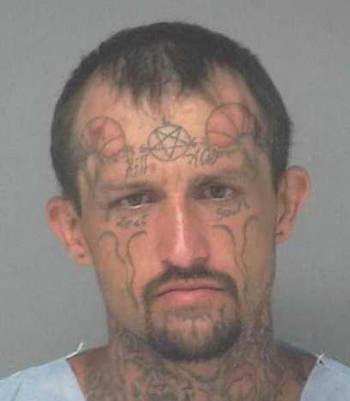 Texas Man With Crazy Mugshot Pleads Guilty To Threatening