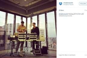 "Dropboxaustin on Instagram: ""Kicking off #SXSW with @breakawayrecords"""