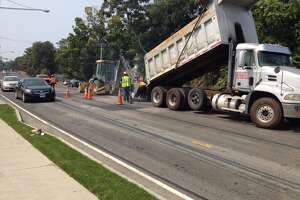 Repair work winding down on East Putnam Avenue in Cos Cob - Photo