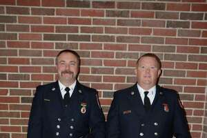Danbury Fire Department promotes two - Photo
