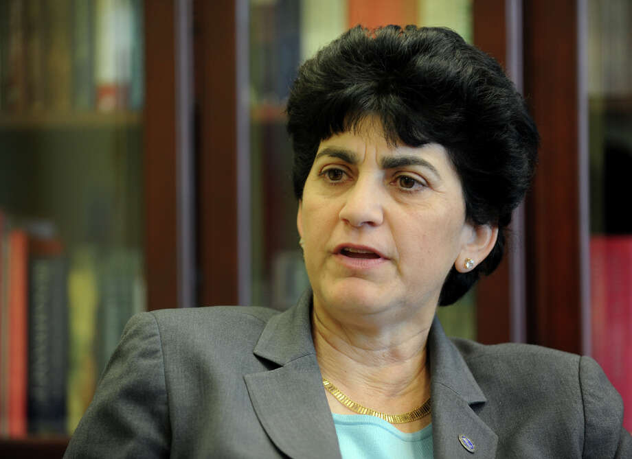 Southern Connecticut State University President Mary A. Papazian Photo: Christian Abraham / Christian Abraham / Connecticut Post